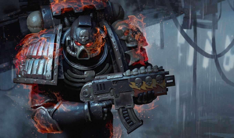 legion, damned, warhammer, космос, marines,,