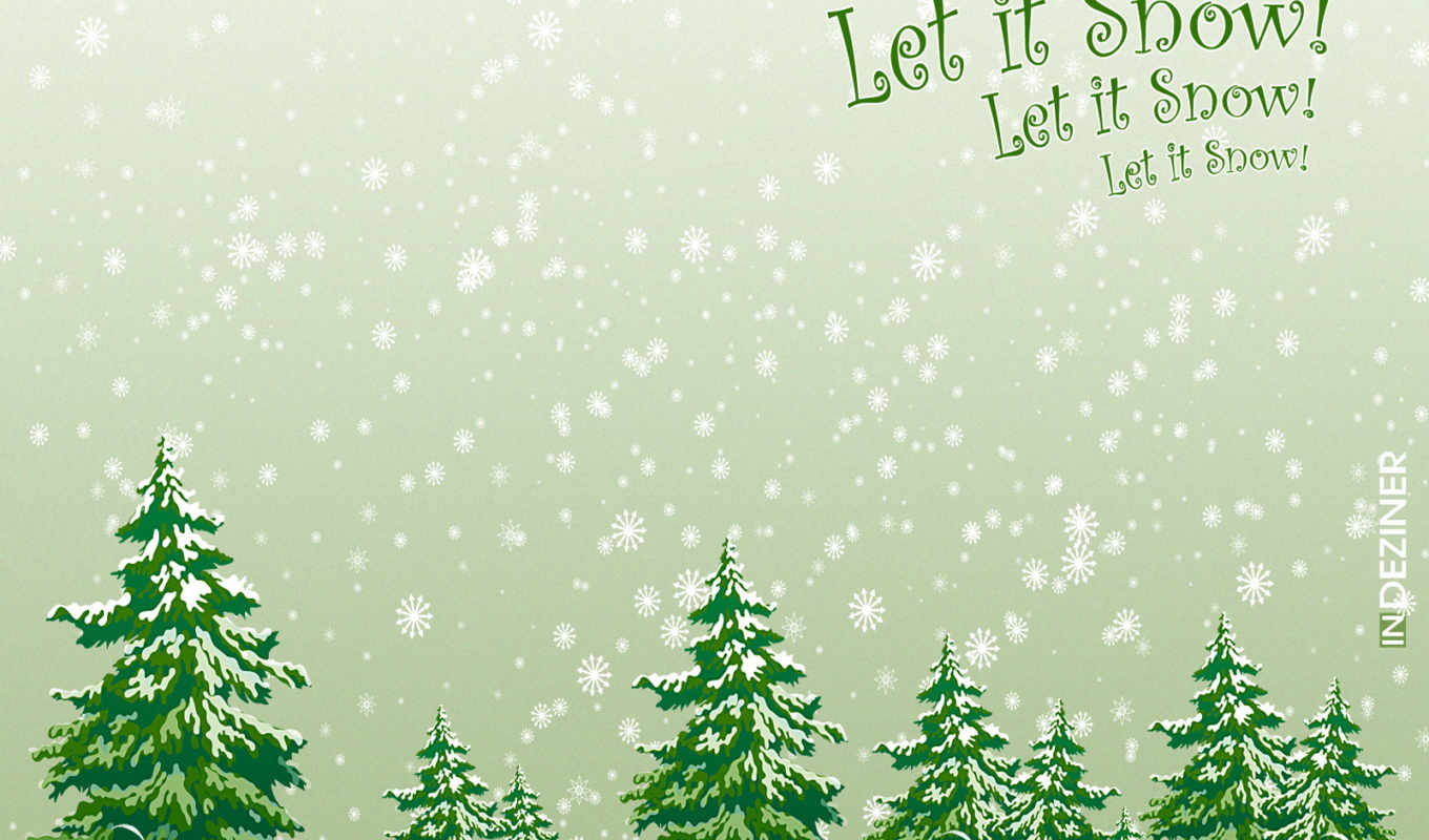 snow, christmas, let, free, download,