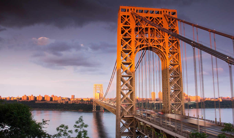 коллекция, мост, высоком, природы, качестве,