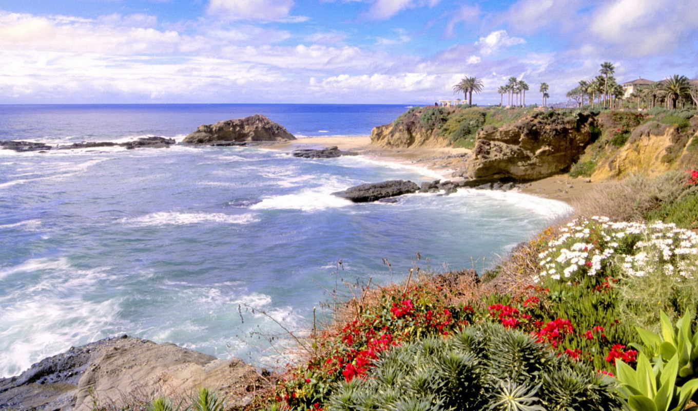 california, laguna, beach, free, wallpaper, images