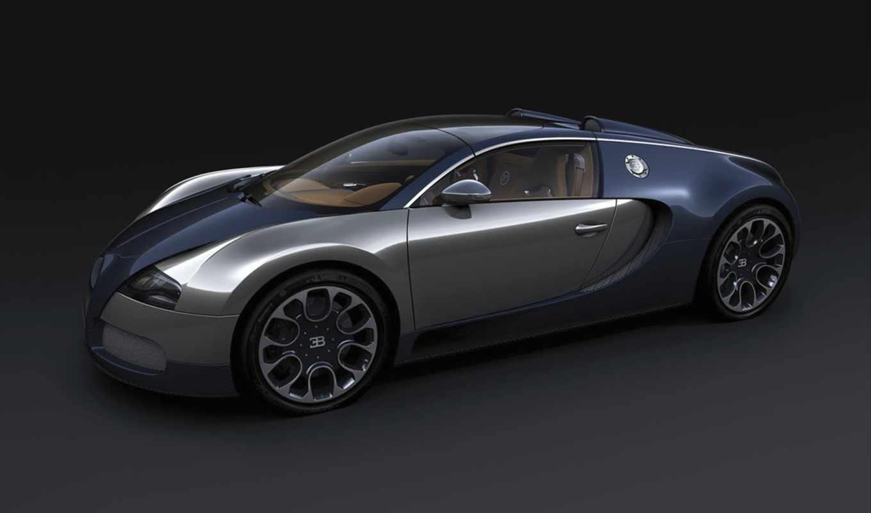 bugatti, veyron, sang, sport, grand, bleu, wallpaper, poze,