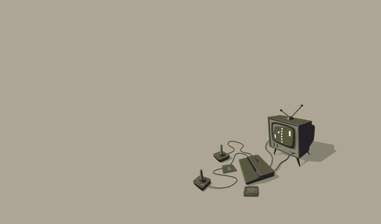 приставка, телевизор, минимализм, sony, картинку, разрешении, game, игровая, playstation, video,
