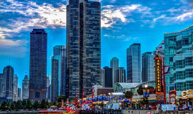 chicago, июня, rar, ночь, городов, города,