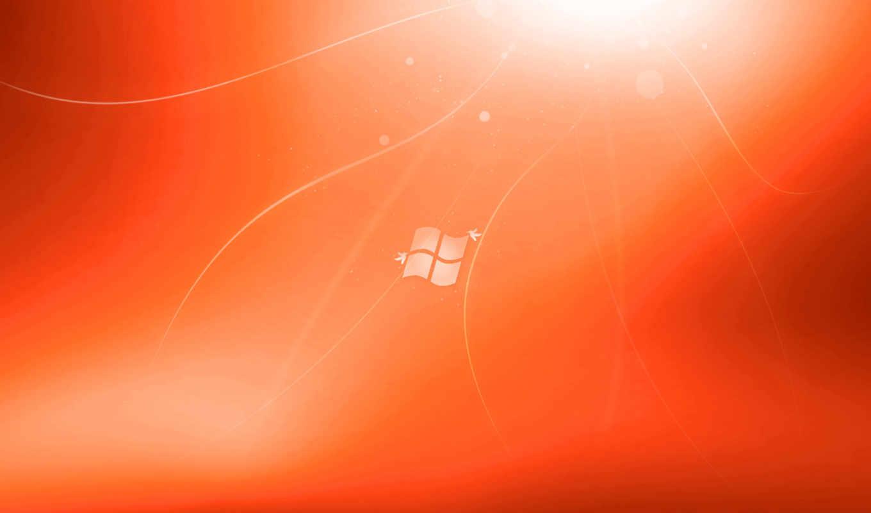 fondo, fondos, naranja, windows, pantalla, escritorio, color, fotos, para,