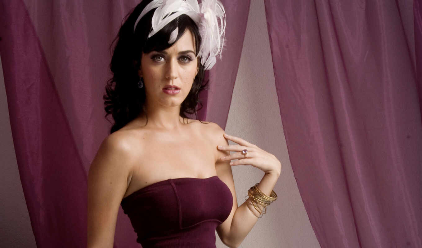 katy, perry, black, платье,