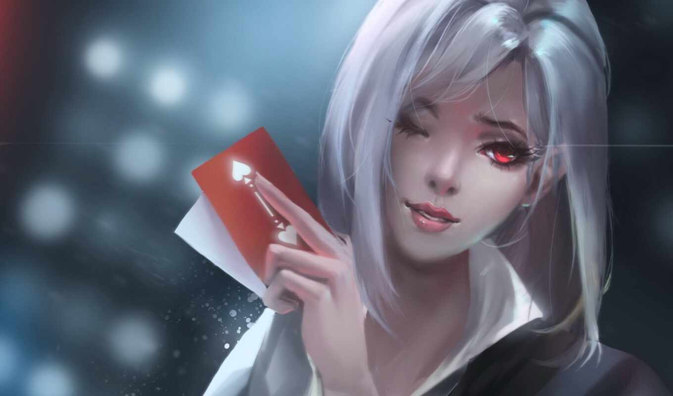 overwatch, ashe, характер, game, shooter, artwork