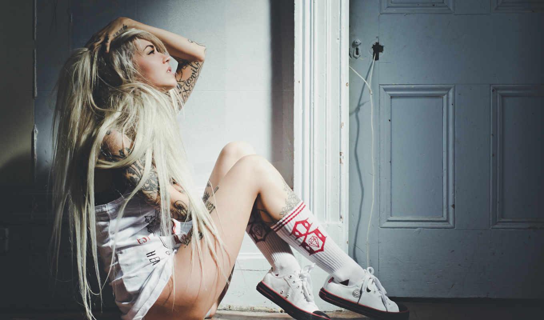 fabel, sara, татуировка, girls, кеды, волосы, ножки, semi,