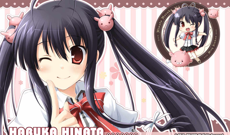 with, ribbon, games, haruka, hinata, noisy, game,