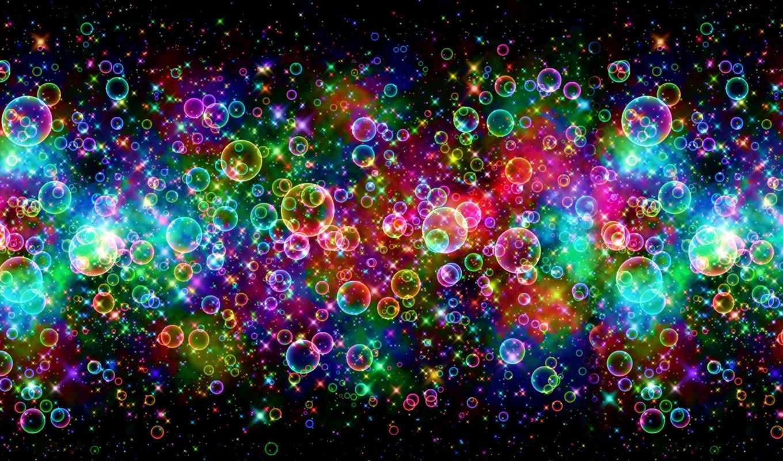 bubbles, background, colorful,