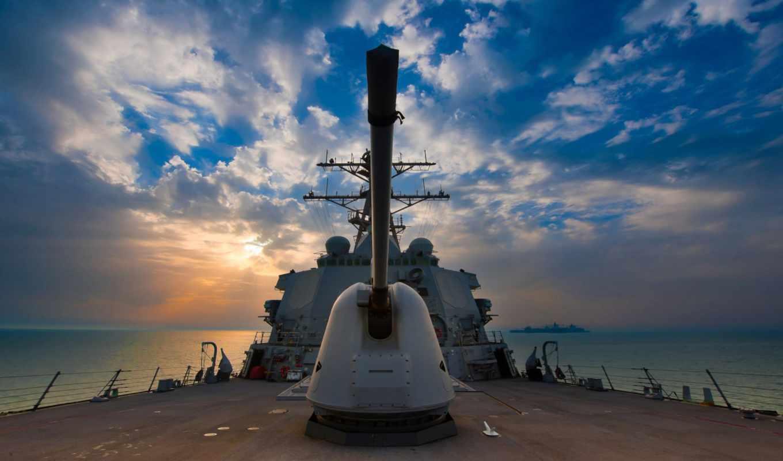 ,эсминец,военный корабль, корабль, пушка,