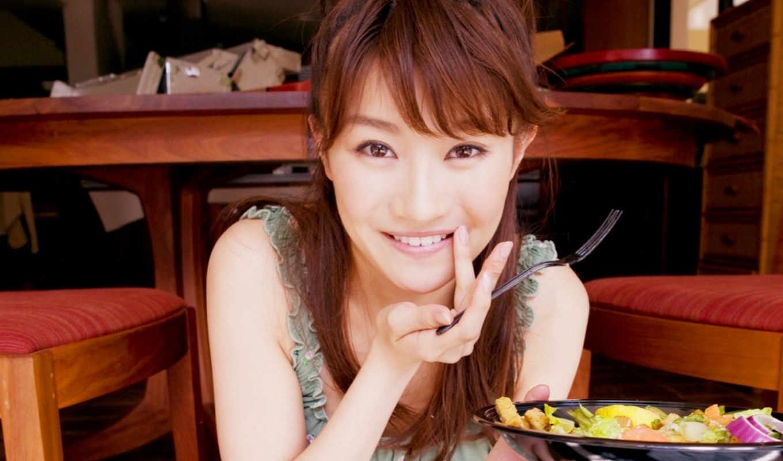 takabe, asian, black eyes, black hair, brown eyes, brunette, dark hair, female, japanese, red hair, teenager, twenties, glasses