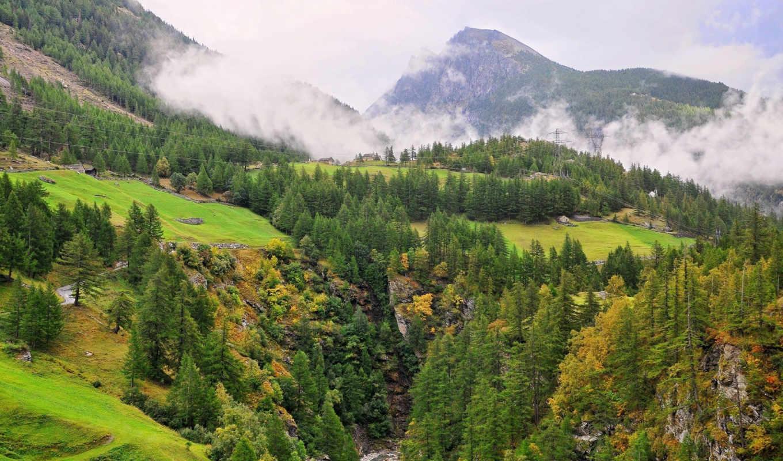 горы, пейзажи -, качестве, высоком, природа, разрешений, отличном,