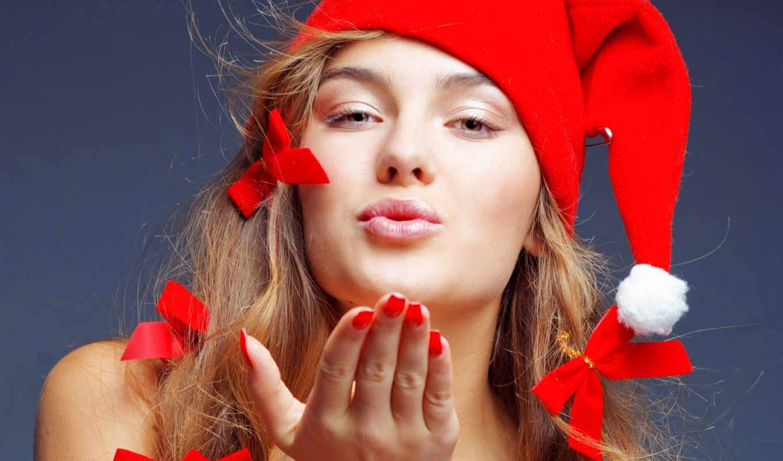 free, christmas, girl, photos, desktop, download, widescreen, enchanting,
