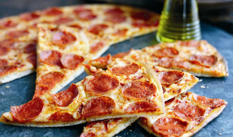 пицца, итальянская, пиццы, колбасой, доставки, гривен, блюдо,