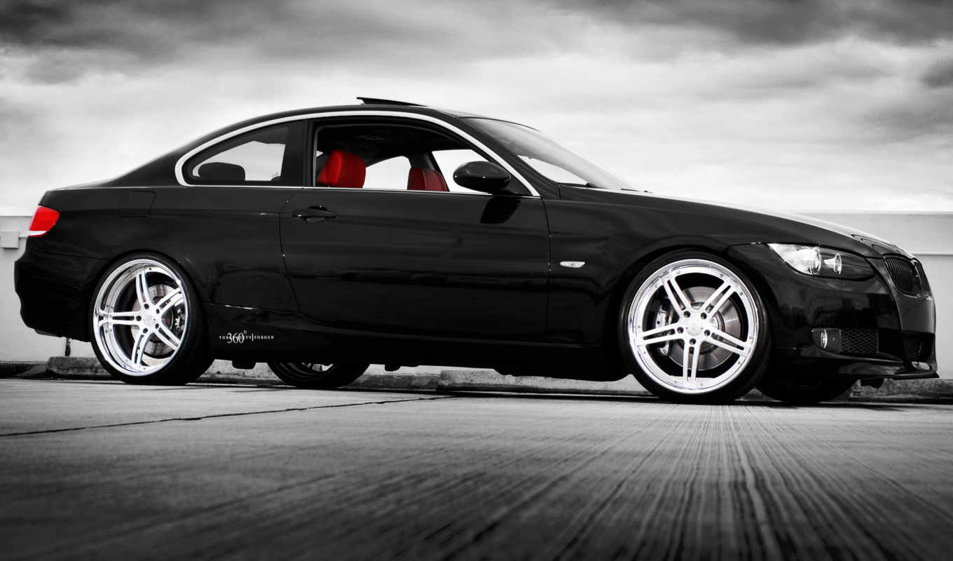 forged, bmw, черная, coupe,