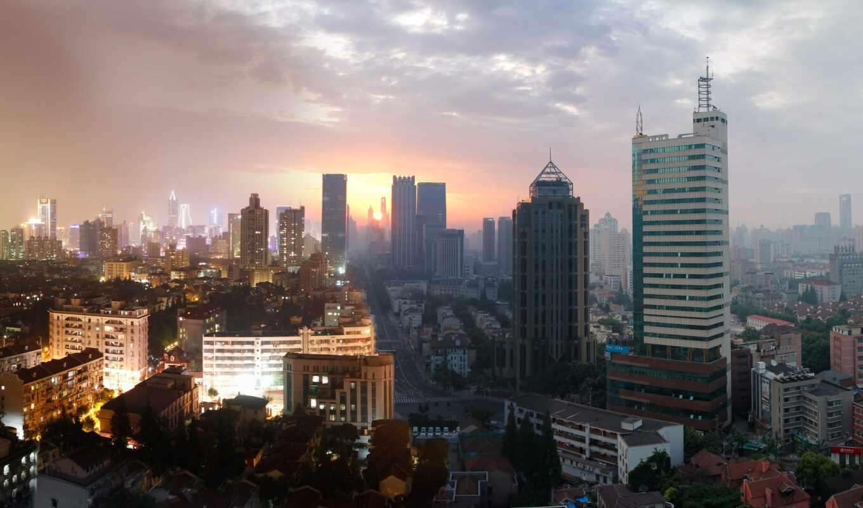 shanghai, take, ночь, фото, top, сделать, трещина, башня, lu, shoot