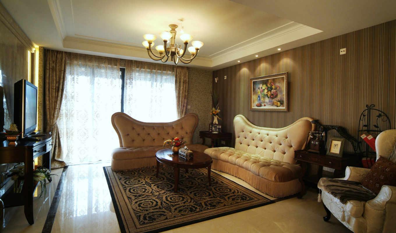 гостиной, интерьера, обоями, дизайн, стиле, стиль,