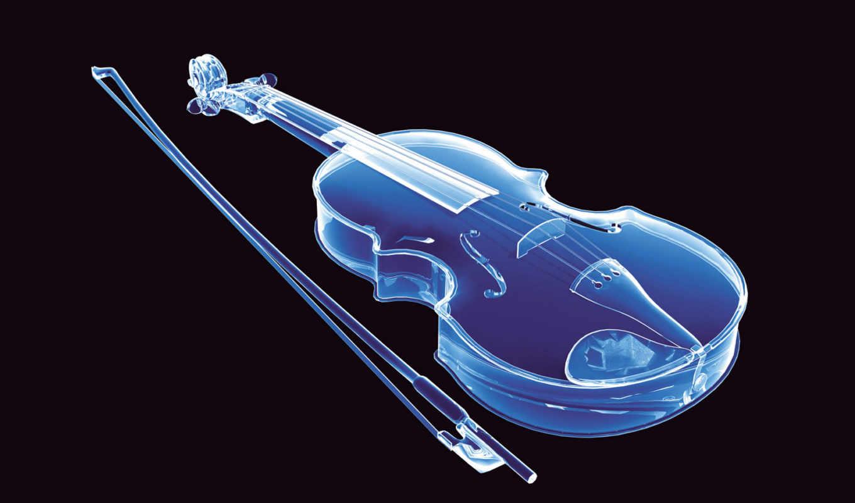 violin, neon, abstract, desktop,