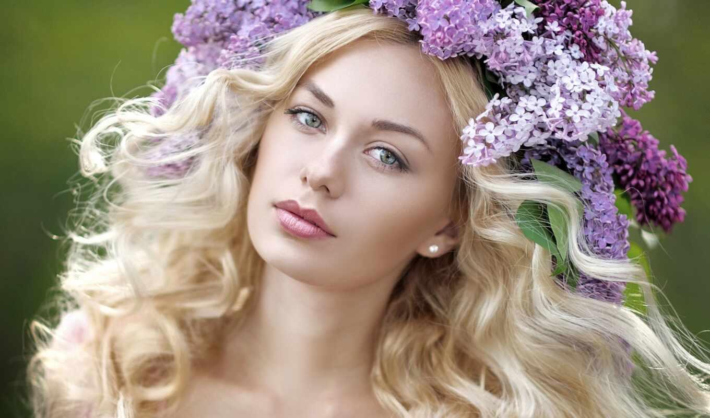 весна, blonde, девушка