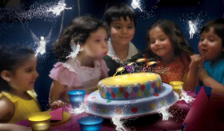 birthday, happy, магия, день, elfy, рождения, креативные, часть,
