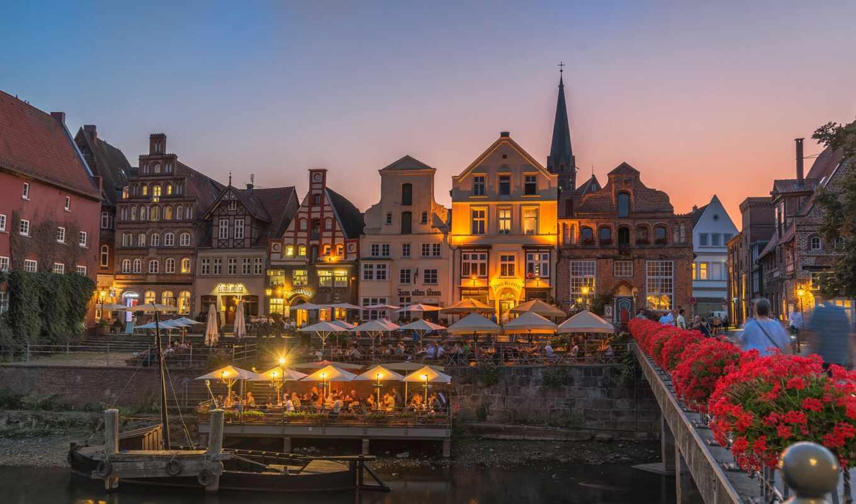 crane, река, historical, гавань, german