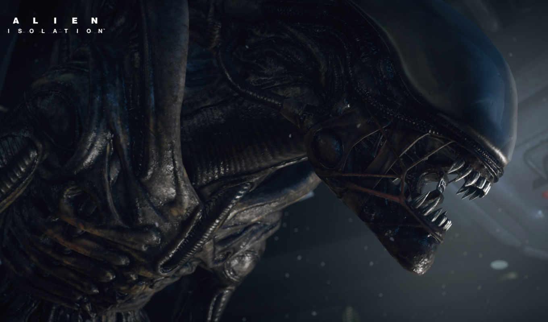 alien, изоляция, game, без, чужой,