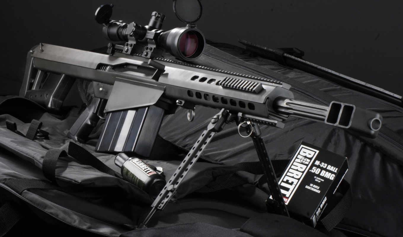 barrett, оружие, крупнокалиберная, винтовка, снайперская, sniper,
