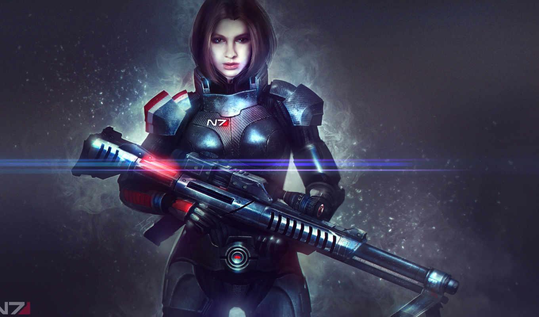 , widescreen, fantasy, quinn, Mass Effect, Mass