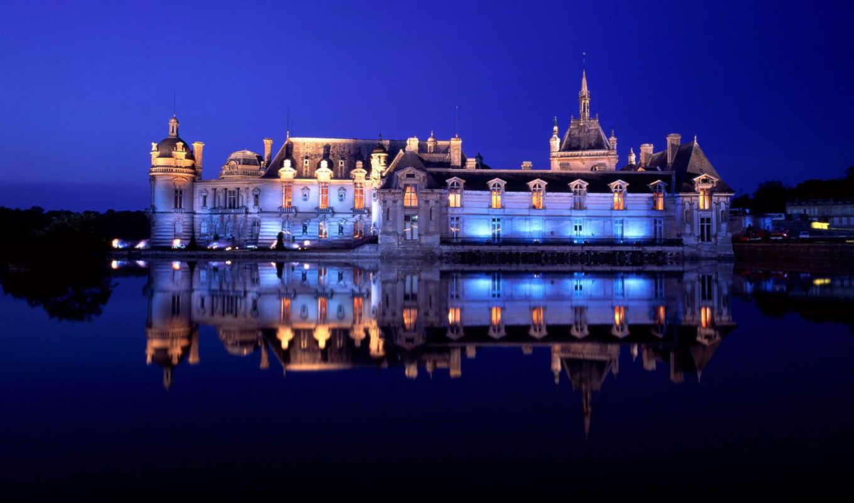 chantilly, france, chateau, изображение, desktop, castle, free,