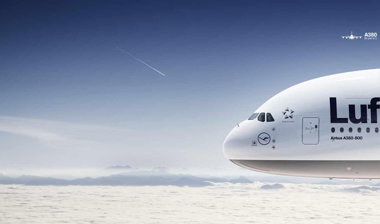 airbus, lufthansa, самолет, боинг, авиация,