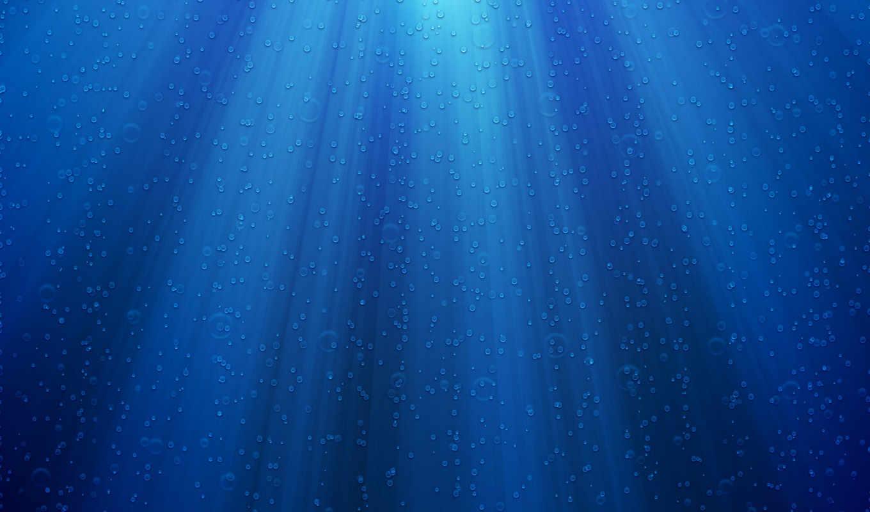 свет, пузырьками, голубые, лучи, vladstudio, пузыри,