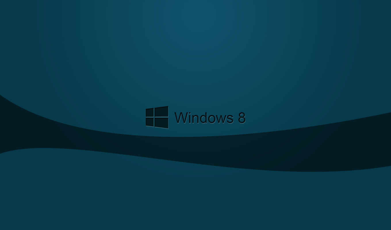 windows 8, logo, dark. desktop