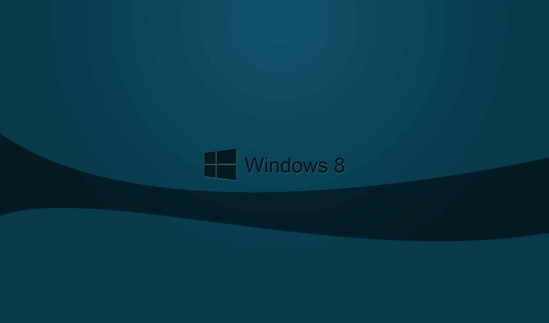 windows 8, logo, dark. desktop