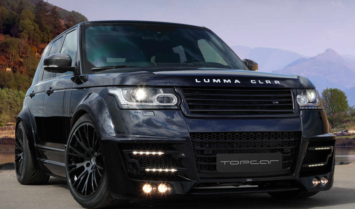rover, range, clr, lumma, vogue, black, design, обвес,