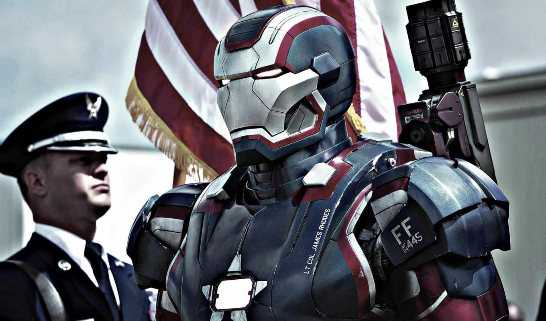 iron, патриот, масть, флаг, мужчина,