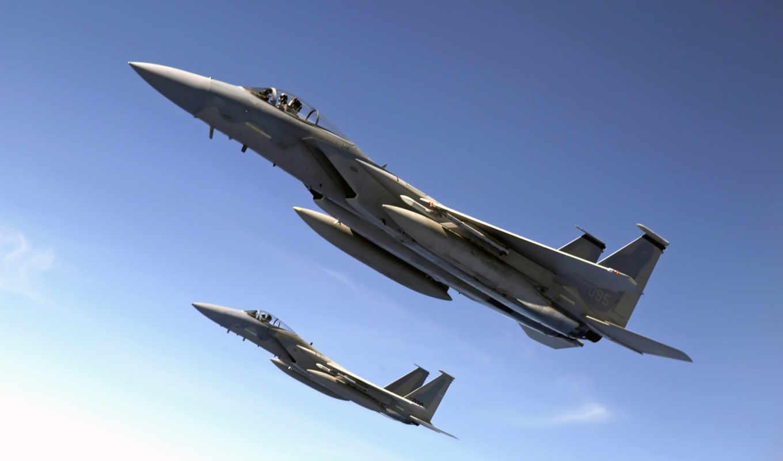 истребитель, plane, военный, реактивный, орлан, airplane, самолёт, article,