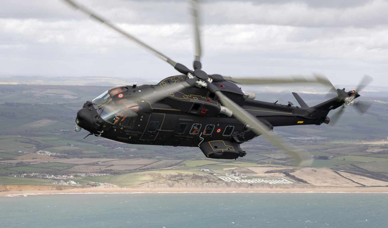 вертолет, aw, agustawestland, rotor, военный, caesar