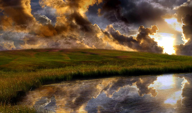 обои, природа, обоев, full, небо, природы, соверше