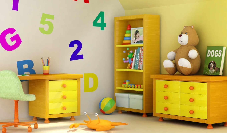 детской, комнаты, детская, интерьер, комната, цвет, ремонта, школа,