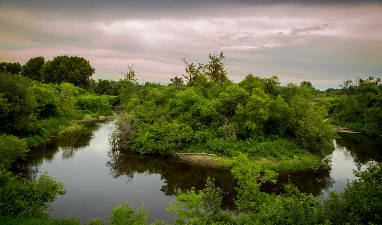 река, природа,