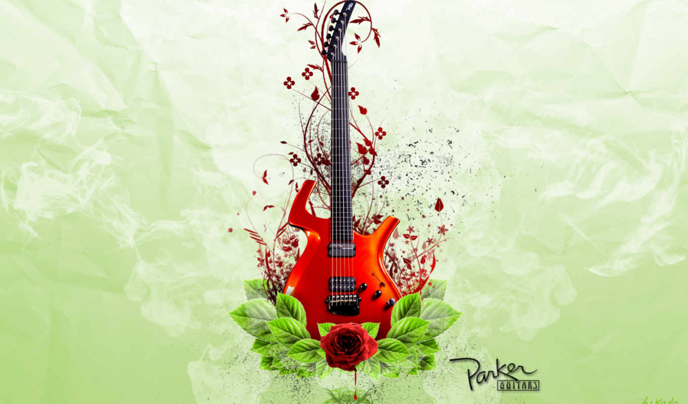 guitar, colorful, photoshop, this, new, music, share, guitars, are, комментариев, image,