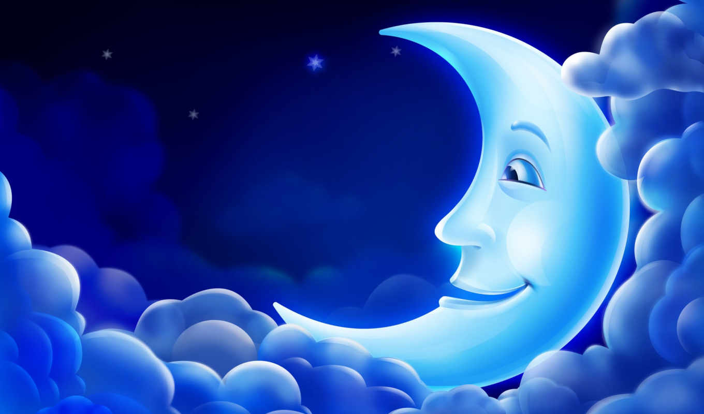 луна, free, desktop, nature, online, facebook, облака, background, widescreen, this, bank, comments, cartolina, you, night, good, небо, bild,