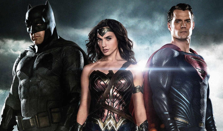 superman, batman, рассвет, justice, wonder,