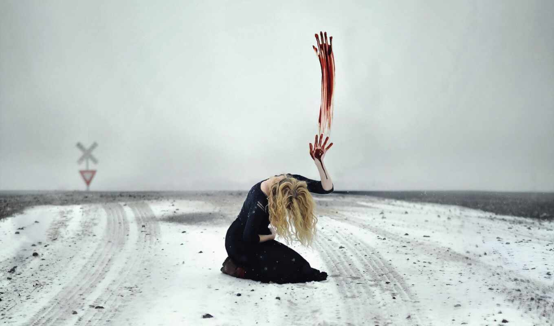 след, depression, кровь, снег, указательный, лекарство, thy