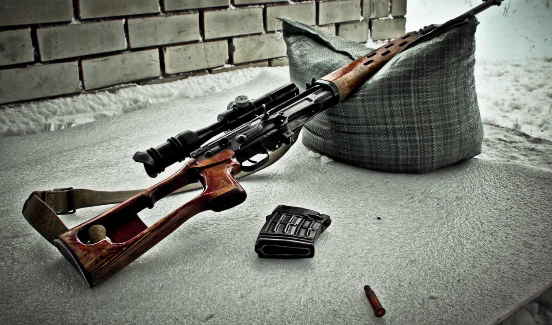снайперская, винтовка, драгунова, оружие, свд, оптика, sniper, гильза, подушка, ремень,