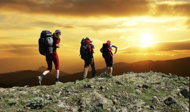 sport, sports, deniz, человека, склону, три, идущие, outdoor, mountain, events, mountaineering, resimleri,