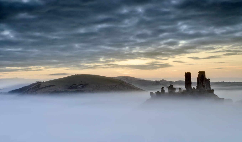 castle, mist, you, resolution,