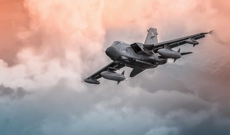 торнадо, истребитель, реактивный, бомбардировщик,, самолёт,, i,