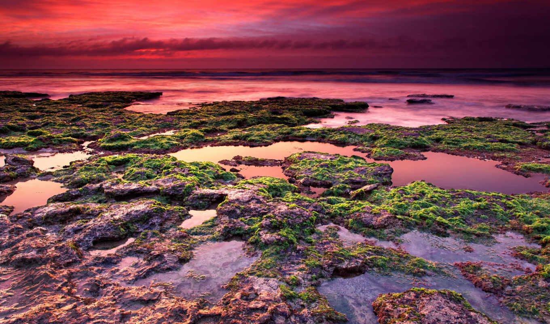камни, небо, рассвет, картинка, всем, обо,