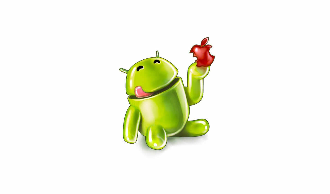 android, еда, apple,
